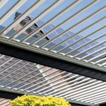 pergola bioclimatica talleres azul (2)